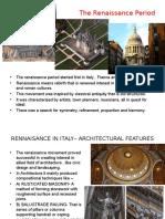 1.Renaissance Architecture