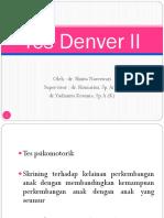 Tes Denver II Dan Growth Chart SHINTA