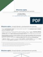 Rifaximin-Alpha u Terapiji Dijareje u Postoperativnom Periodu