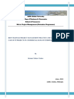 IRON TRAINGLE PROJECT MANAGEMENT PRACTICE AND CHALLENGES