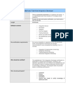 Web Methods Certification Overview