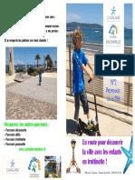 Cavalaire - Parcours Trottinette 2 Promenade