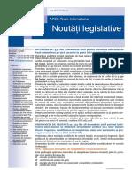 APEX Team Noutati Legislative 12 2018