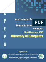 ICPEP-6 (2018) Directory of Delegates