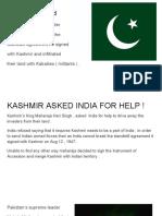 UN - Kashmir Talk