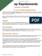 Como Rap Rapidamente - ColeMizeStudios.pdf