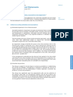 Notes to the IFRS