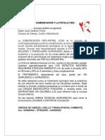 MANEJO DE LA COMUNICACIÓN Y LA FÍSTULA ORO-ANTRAL.