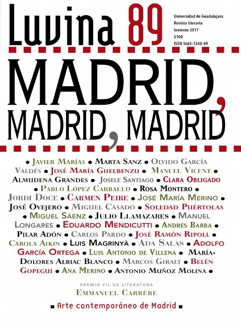29bc3f56e Luvina 89 Madrid Madrid Madrid