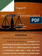 Preliminary Investigation REPORT