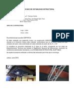 Certificado de Estabilidad Estructural