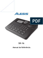Manual Alesis Sr16