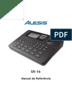 Manual Alesis Sr16
