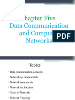 Chapter 5- Data Communication and Networks