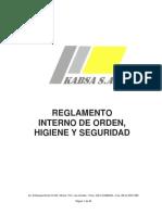 Reglamento Interno v.2016