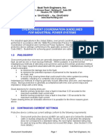 Overcurrent Coordination Guidelines for Industrial Power Systems