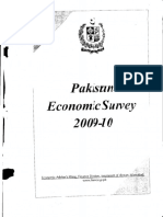 Pakistan Economic Survey 2009-2010