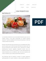 Carla Zaplana - Salud Intestinal Con Probióticos Naturales