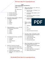 CTET Pervious Exam 2011 Paper 1 Part 1 Child Development Pedagogy