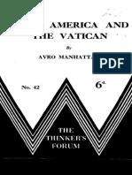 Latin America and the Vatican - Avro Manhattan.pdf