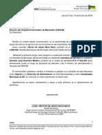 Carta Comisión de Servicio Gerardo Guerrero