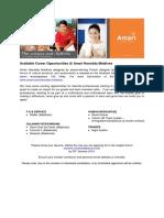 AHM Jobs - 21 Jan 19