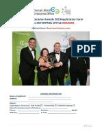 Laois Local Enterprise Award Application Form
