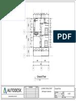 House 2019 - Sheet - A-001 - Ground Floor