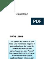 Guias lebus