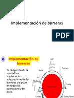 Implementación de Barreras