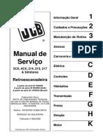Manual de Serviço Retro JCB