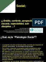 Que Es La Psicologia Social