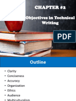 Chapter 2 - Objectives in Technical Writing