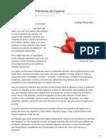 Alimentossaludables.mercola.com-Beneficios de La Pimienta de Cayena