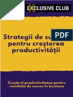 Strategii Succes Cresterea Productivitatii
