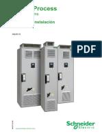 Altivar Process Installation Manual ES NHA37122 00