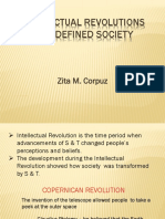 Intellectual Revolutions That Defined Society