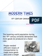 STS Modern Times
