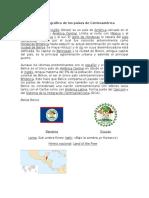 Perfil geográfico de Centroamérica
