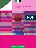 Currículo Educación Infantil Extremadura