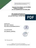 relazione descrittiva illustrativa generale 36 mwp