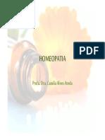 Aula de Homeopatia