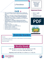 weekly newsletter january 21
