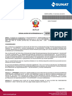 Resolucion de fraccionamiento aprobada por sunat