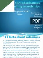 Types of Volcanoes According to Activities