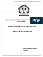 Revision of civil cases