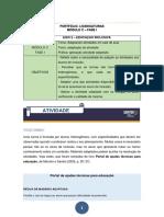 Avaliação de Língua Portuguesa 2018 5º a 3ºb