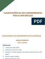 Clasificación de Los Contaminantes Por Su Naturaleza-junio 2015