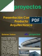 Alfa Presentacion General Producto Arquitectonico
