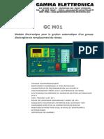 GE GCM01-BC-FR-R01